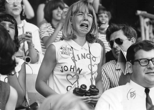 Fan de The Beatles, algún momento en los años 60.